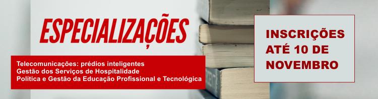 Especializações Goiânia 2020