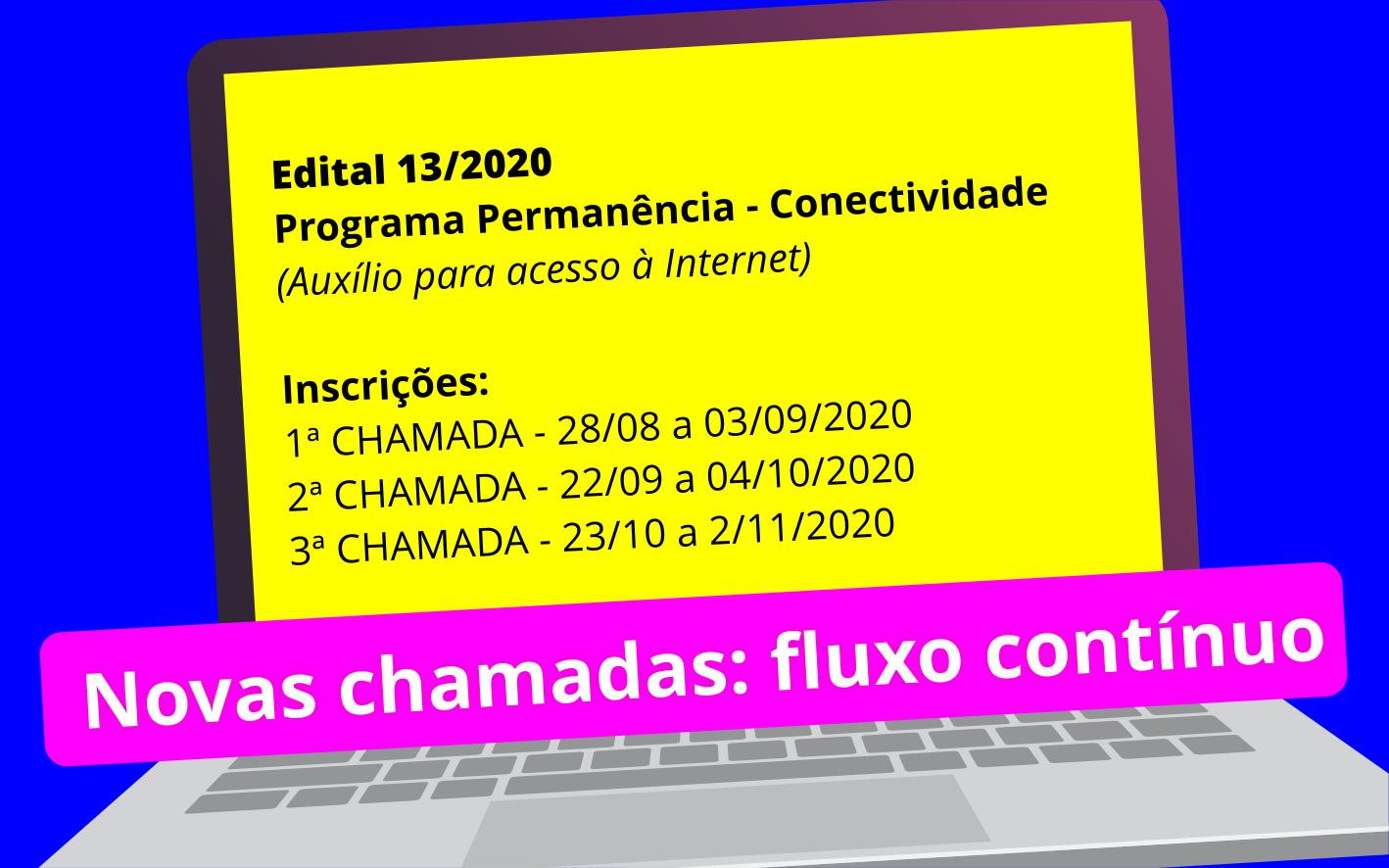 Edital Fluxo Contínuo Conectividade