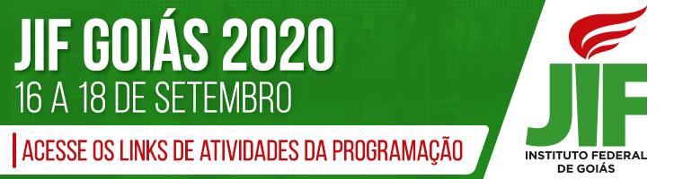 Banner JIF Goiás 2020