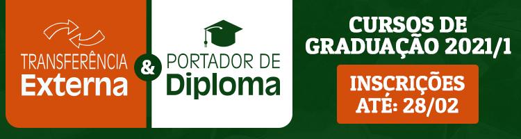 Portador de Diploma e transferência 2021-1