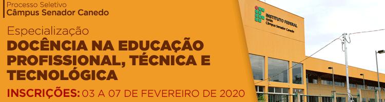 Especialização 2020