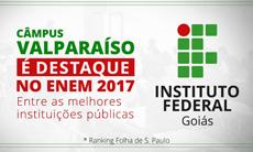 Câmpus Valparaíso- ranking do Enem Folha de S. Paulo