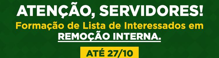 Banner - Edital Remoção Interna